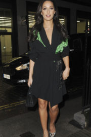 Roxie Nafousi shows off beautiful legs night out in London