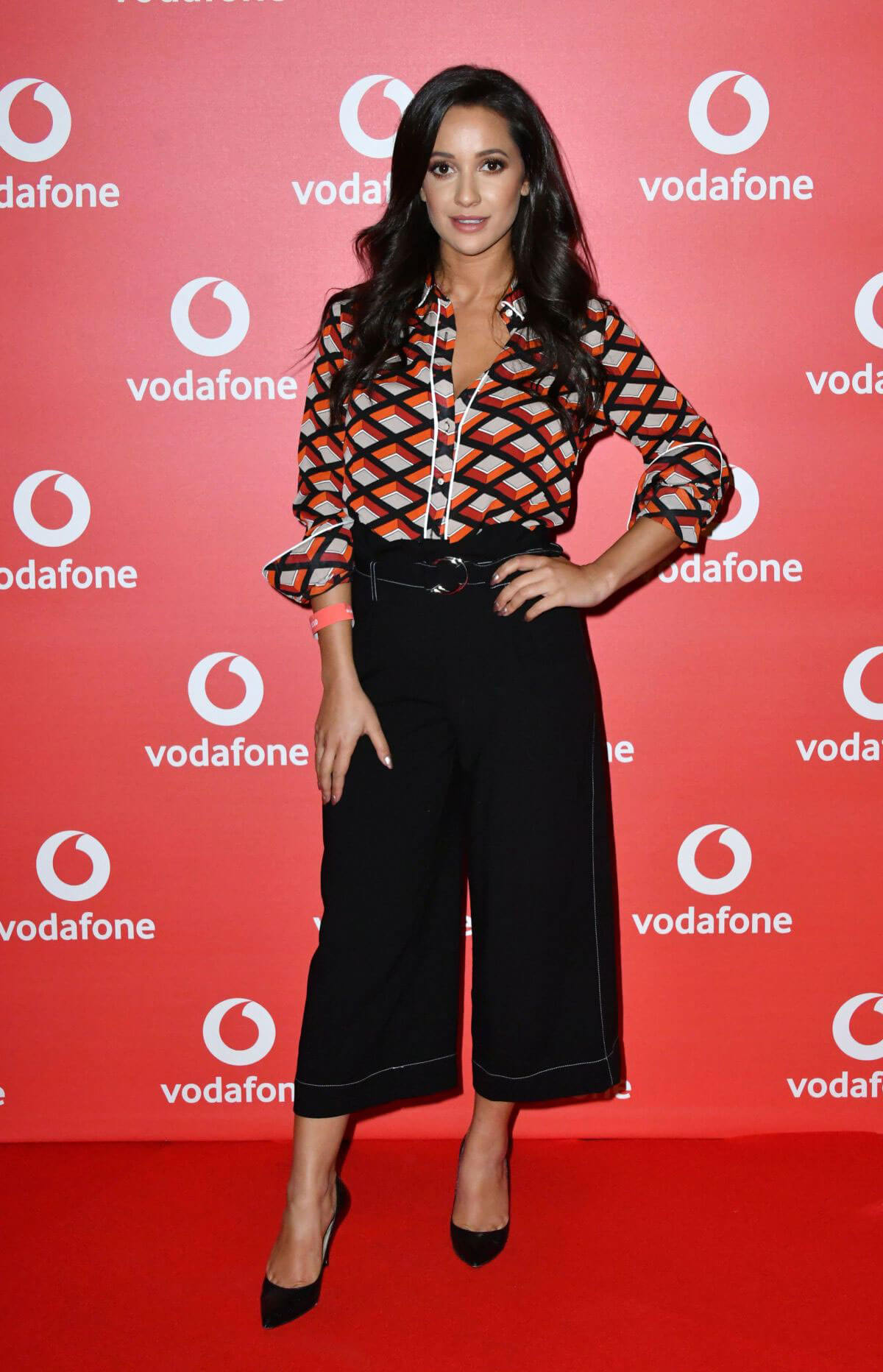 Roxie Nafousi Stills at Vodafone Passes Launch in London