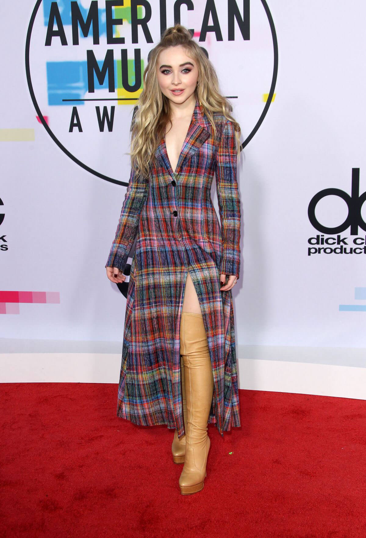 Sabrina Carpenter Stills at American Music Awards 2017 in Los Angeles