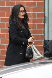 Salma Hayek Stills Out and About in Beverly Hills Images