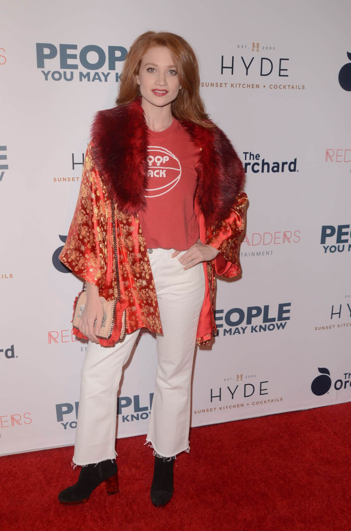 Sarah Hay Stills at People You May Know Premiere in Los Angeles