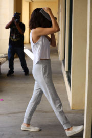 Selena Gomez flashes Toned Physique Leaves Pilates Class in West Hollywood