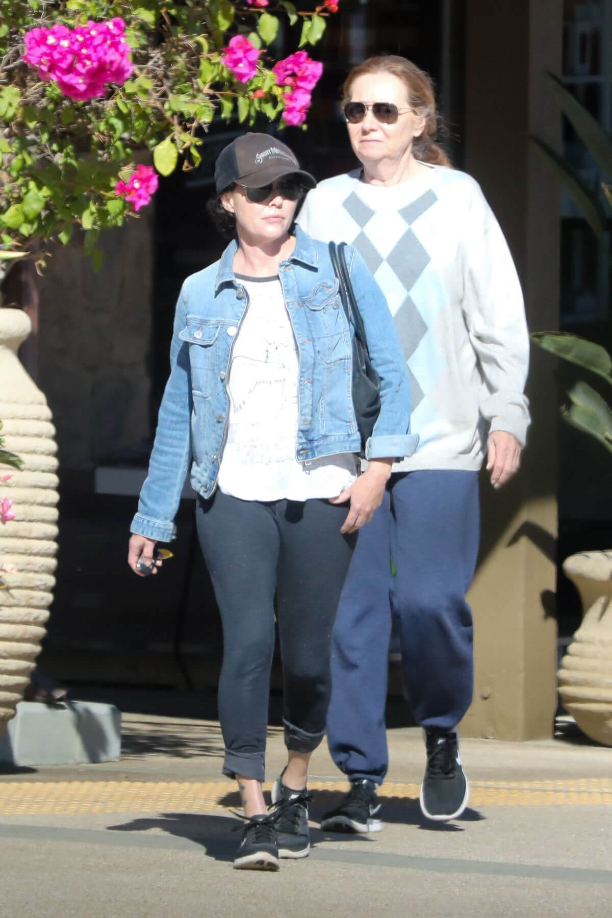 Shannen Doherty Stills Out for Lunch with Her Mom in Malibu