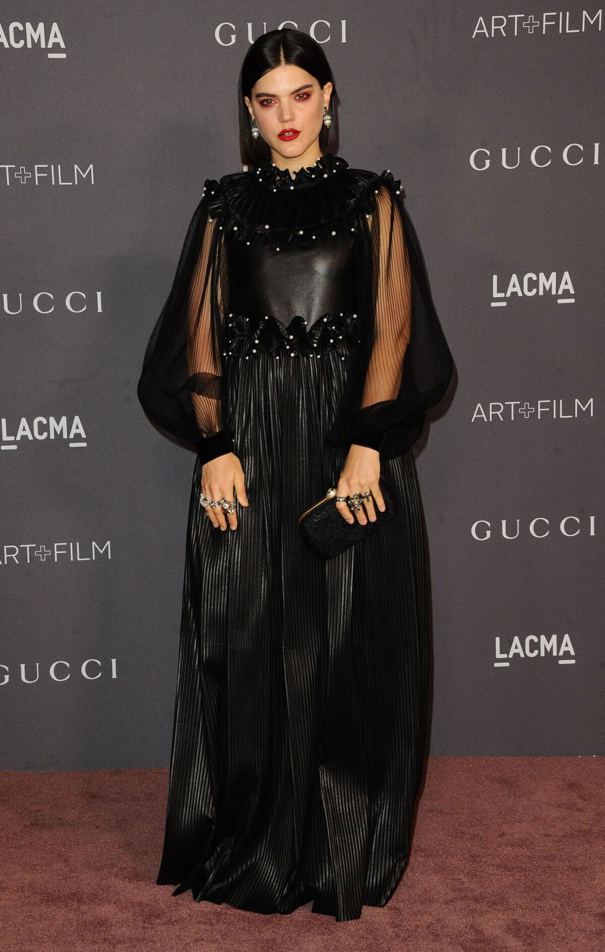 SoKo Stills at 2017 LACMA Art + Film Gala in Los Angeles