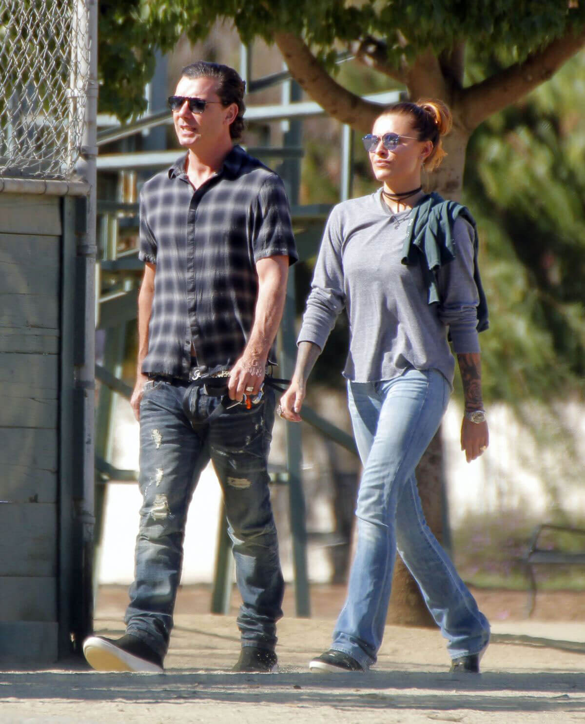 Sophia Thomalla and Gavin Rossdale Stills Out in Hollywood Images