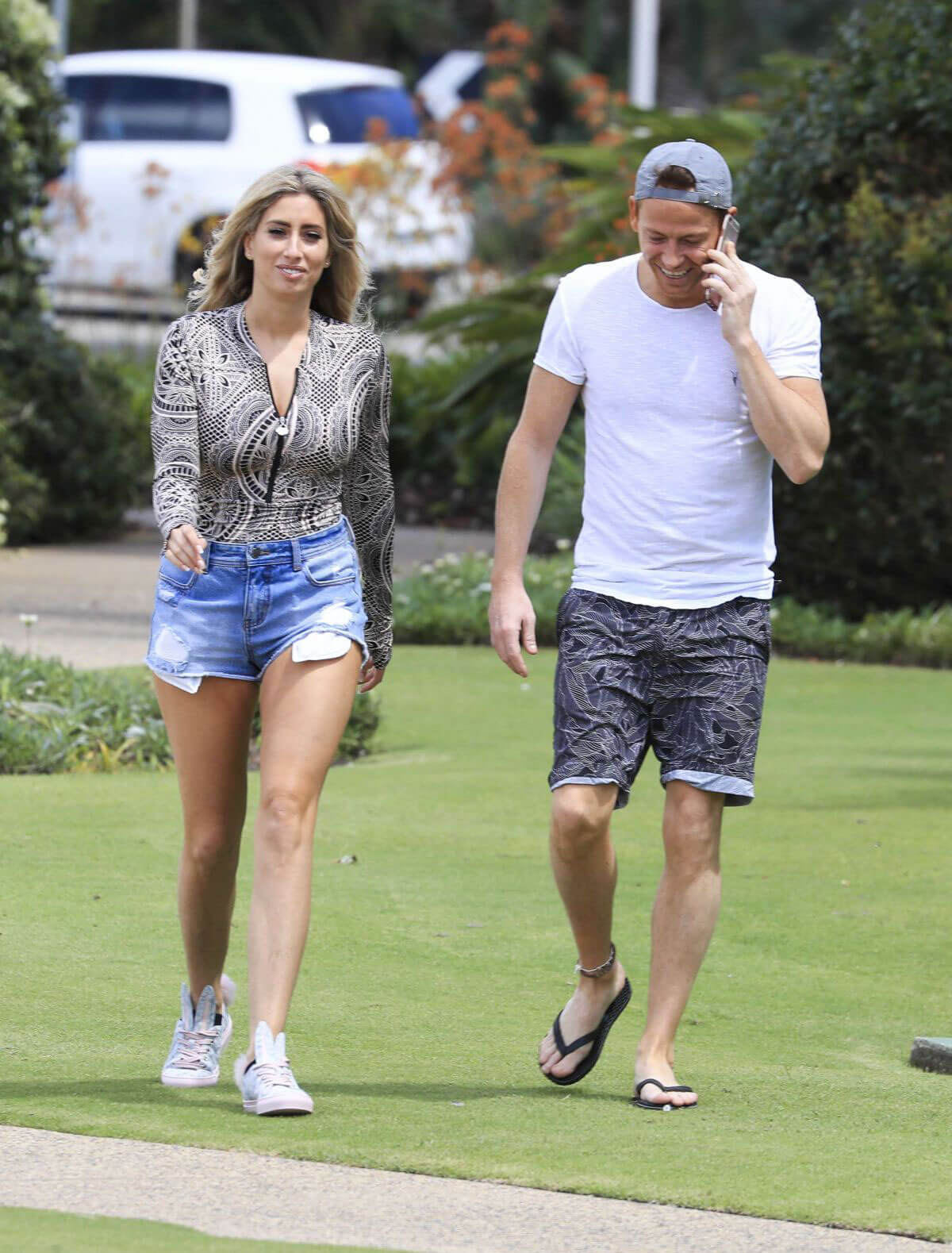 Stacey Solomon and Joe Swash Stills Out in Australia