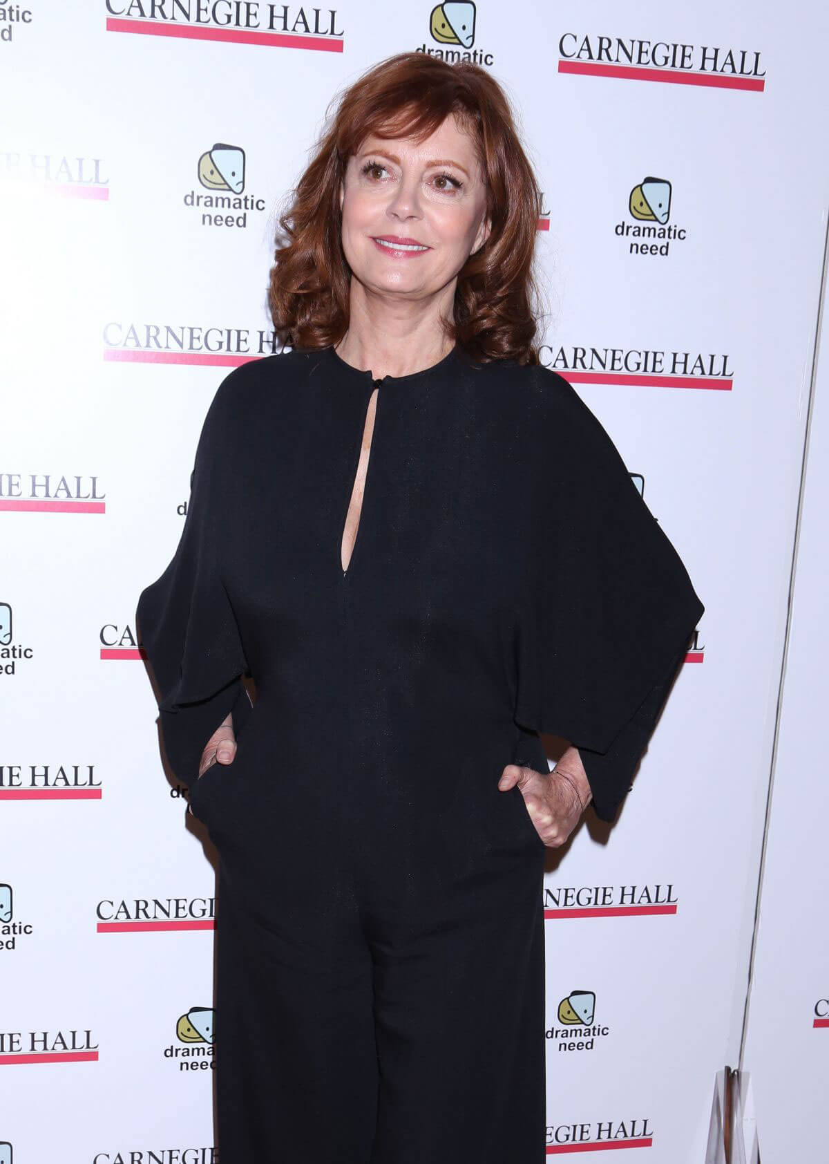 Susan Sarandon Stills at The Children's Monologues at Carnegie Hall in New York