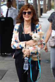Susan Sarandon Stills Out and About in Studio City Images