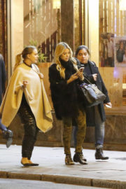 Sylvie Meis with Her Friends Stills Out and About in London