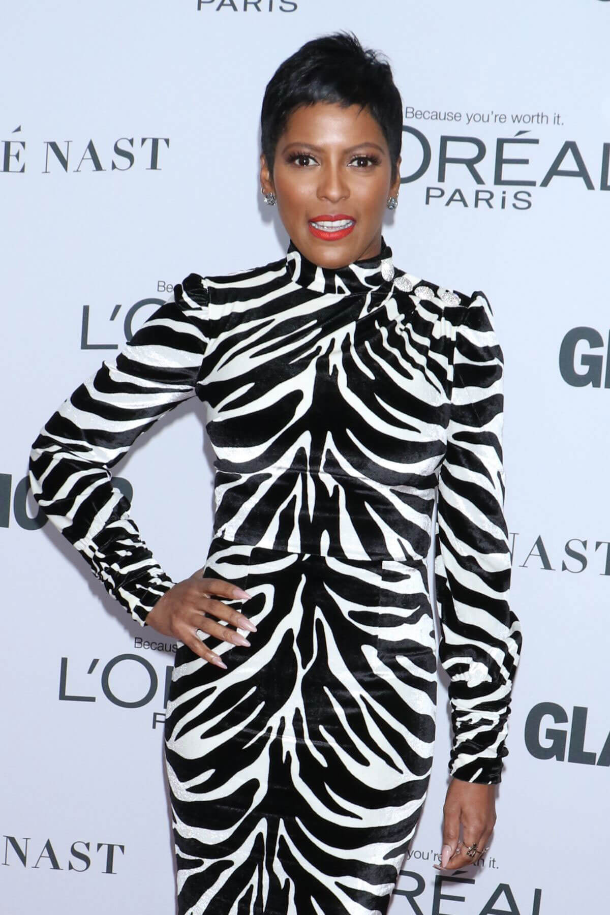 Tamron Hall Stills at Glamour Women of the Year Summit in New York
