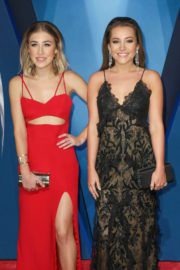 Taylor Dye and Madison Marlow Stills at 51st Annual CMA Awards in Nashville 11/08/2017