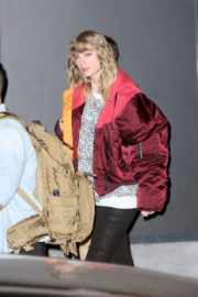 Taylor Swift Stills Leaves Her Reputation Album Release After-party in New York