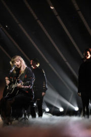 Taylor Swift Stills Performs at Saturday Night Live in New York