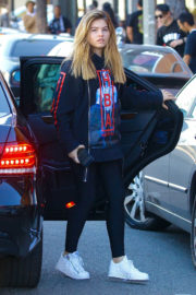 Thylane Blondeau Stills Out for Lunch at Urth Caffe in West Hollywood