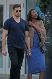 Venus Williams and Elio Pis Stills Spotted out in New Orleans