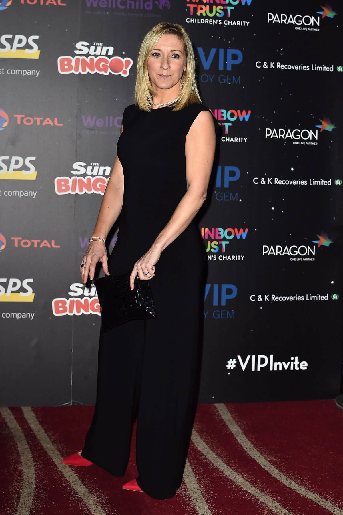 Vicky Gomersall Stills at An Evening with the Stars in London
