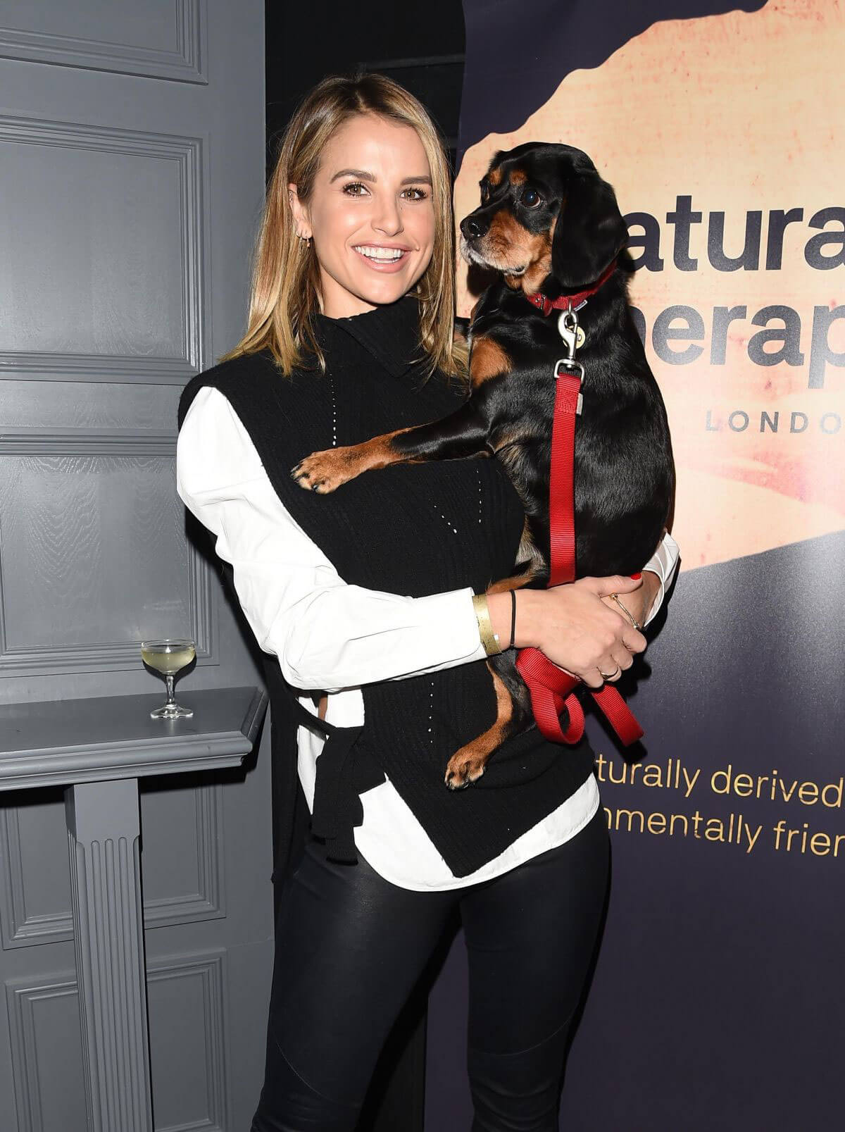 Vogue Williams Stills at Natural Therapy Event at Tape Nightclub in London