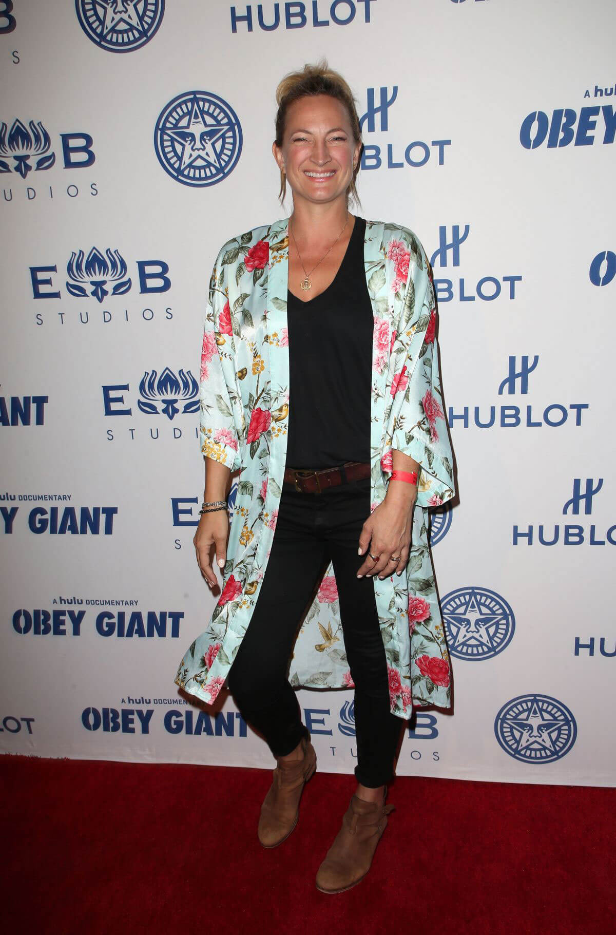 Zoe Bell Stills at Elysium Bandini Studios Presents Obey Giant in Los Angeles