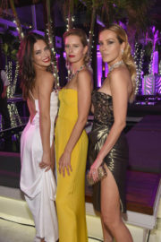 Adriana Lima and Petra Nemcova Stills at Creatures of the Night Late-Night Soiree in Miami 2017/12/05