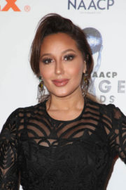 Adrienne Bailon Stills at NAACP Image Awards Nominees Luncheon in Beverly Hills 2017/12/16