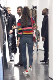 ALESSANDRA AMBROSIO Out Shopping in Beverly Hills 12/02/2017