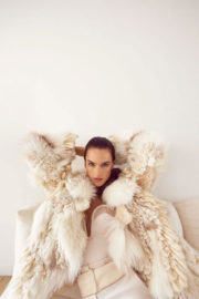 Alessandra Ambrosio Poses for Vogue Magazine, Portugal January 2018 Issue