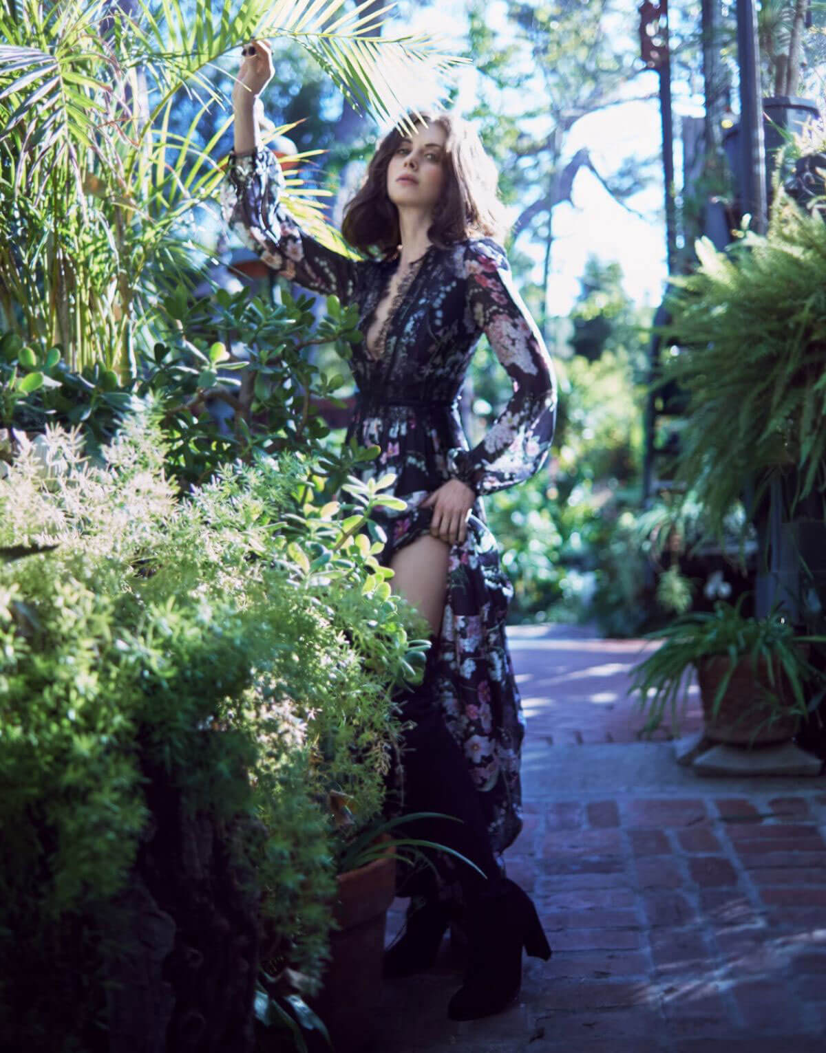 Alison Brie Poses for The Edit Magazine, December 2017 Issue