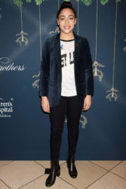 Allegra Acosta Stills at Brooks Brothers Holiday Celebration with St Jude Children's Research Hospital