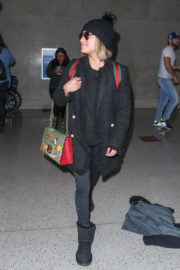 Ally Brooke Stills at LAX Airport in Los Angeles 2017/12/06