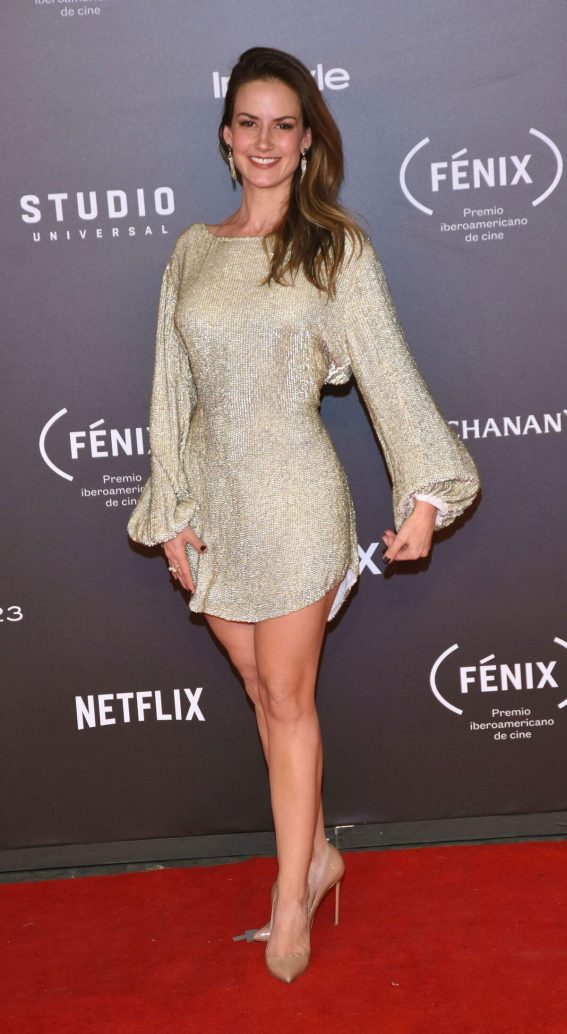Altair Jarabo Stills at Fenix Film Awards in Mexico City 2017/12/06