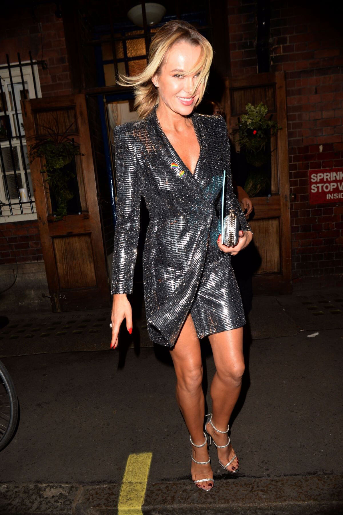 Amanda Holden Stills At Everybodys Talking About Jamie Press Night London 05 Bikini