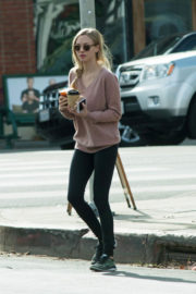 Amanda Seyfried in Loose Top & Tight Jeans Out and About in Los Angeles