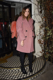Amber Le Bon Stills at Chez Moi Christmas Special in London 2017/12/19