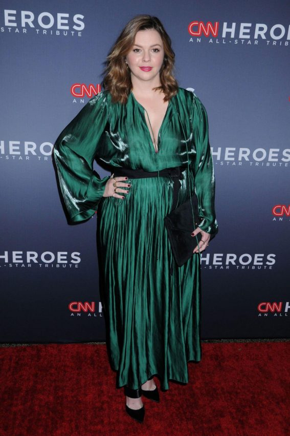 Amber Tamblyn Stills at 11th Annual CNN Heroes: An All-star Tribute in New York 2017/12/17
