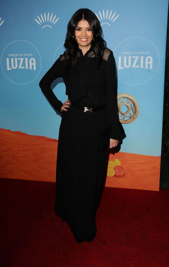 Amelia Racine Stills at Cirque Du Soleil Presents Luzia at Dodger Stadium in Los Angeles 2017/12/12