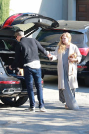 Amy Adams Outing with Daughter Stills Out in Los Angeles