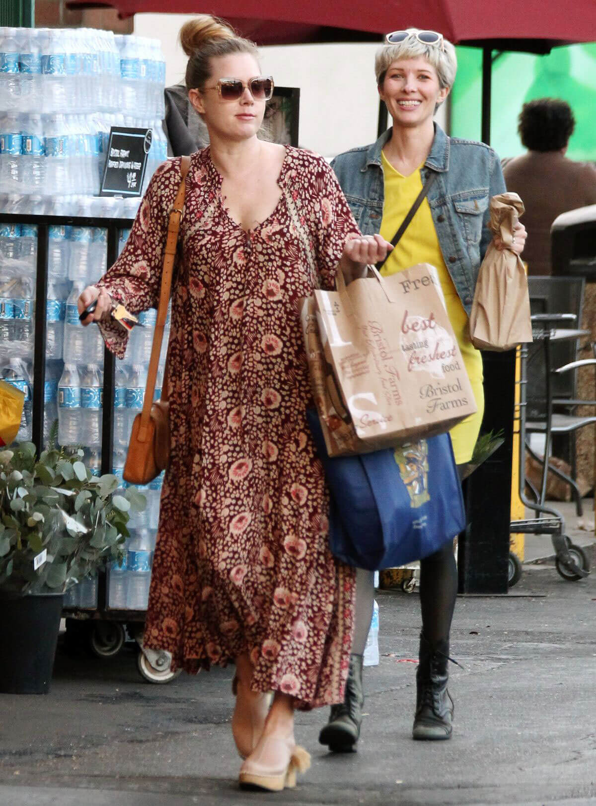 Amy Adams with Her Friends Stills Out Shopping in West Hollywood