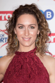 Amy Williams Stills at 2017 Pride of Sport Awards in London