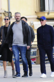 Ana Ivanovic and Bastian Schweinsteiger Stills Out and About in Marbella 2017/12/11