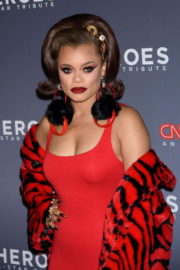 Andra Day Stills at 11th Annual CNN Heroes: An All-star Tribute in New York 2017/12/17
