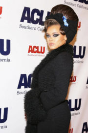 Andra Day Stills at Aclu Socal's Annual Bill of Rights Dinner in Los Angeles 2017/12/03