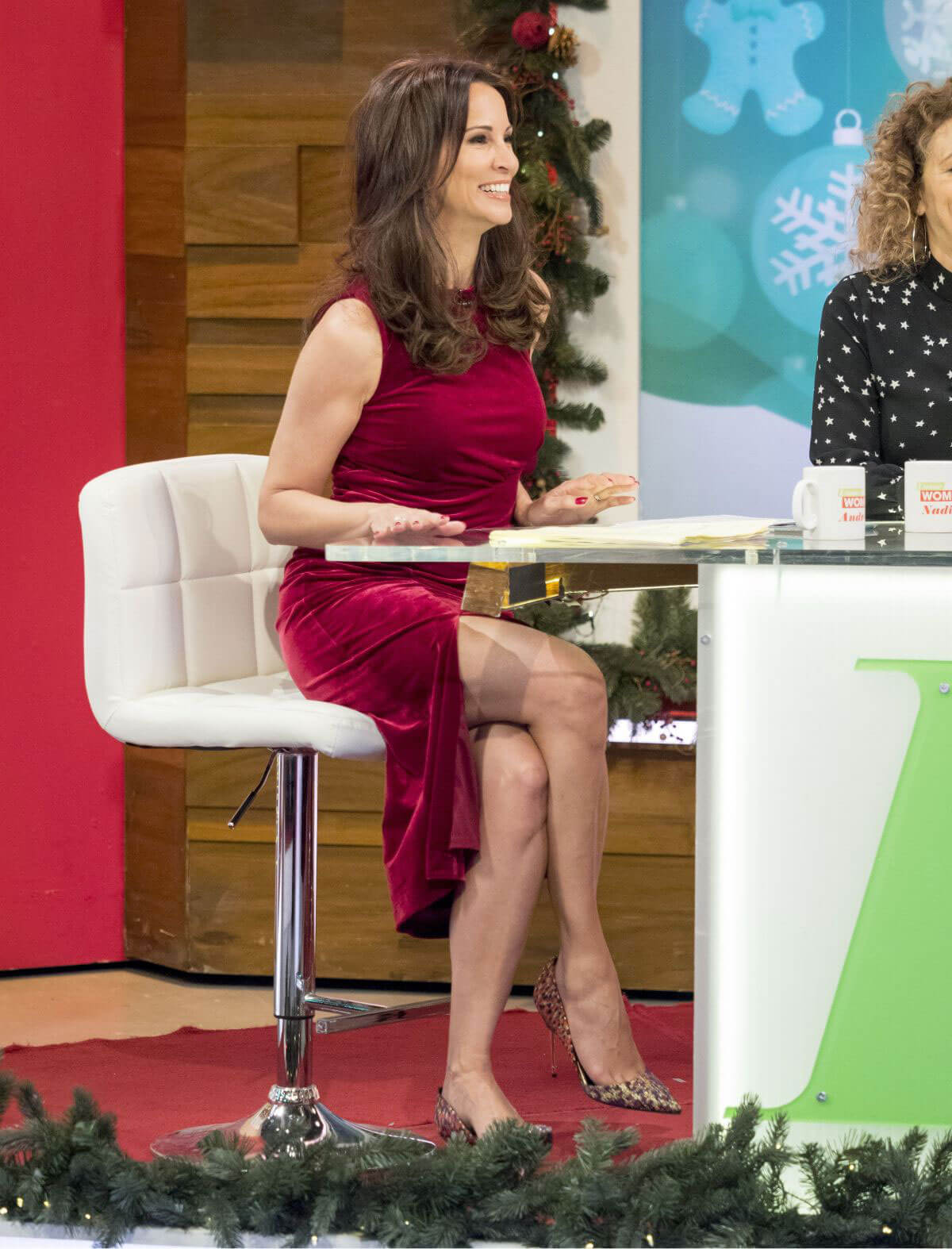 Where andrea mclean loose women all does