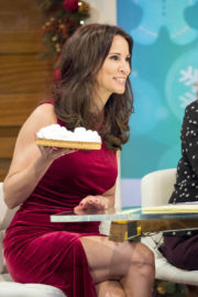 Andrea McLean Stills at Loose Women TV Show in London 2017/12/21