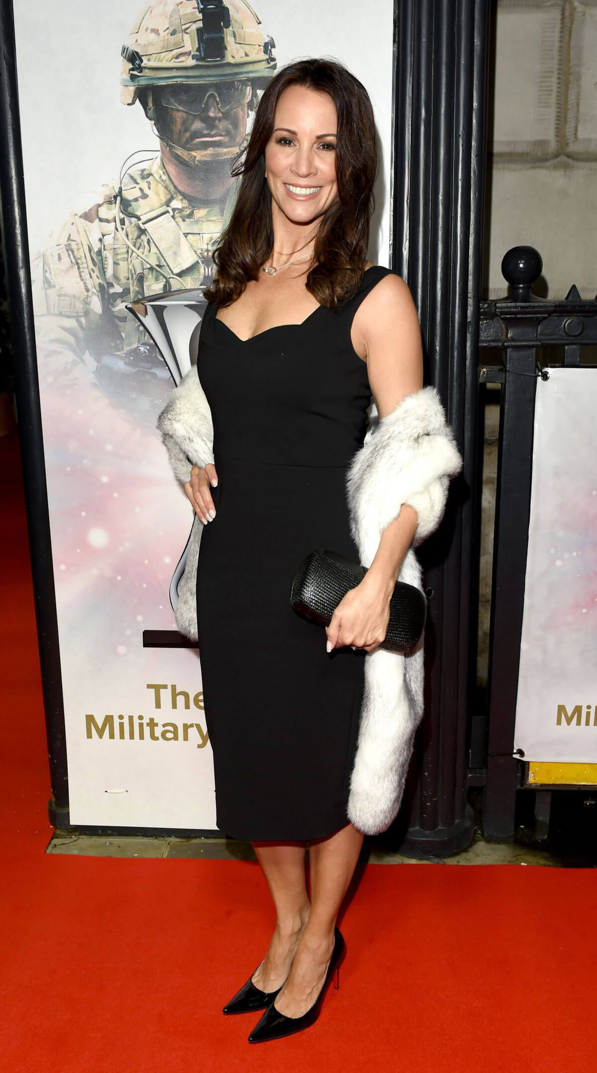 Andrea McLean Stills at The Sun Military Awards in London 2017/12/13