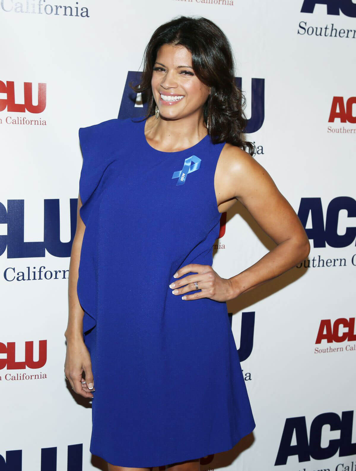 Andrea Navedo Stills at Aclu Socal's Annual Bill of Rights Dinner in Los Angeles 2017/12/03