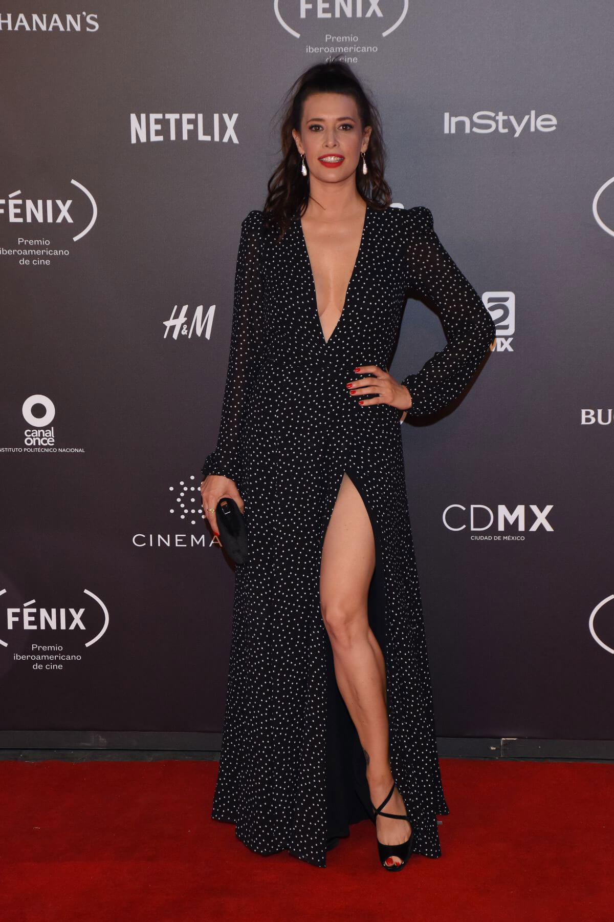 Angie Cepeda Stills at Fenix Film Awards in Mexico City 2017/12/06
