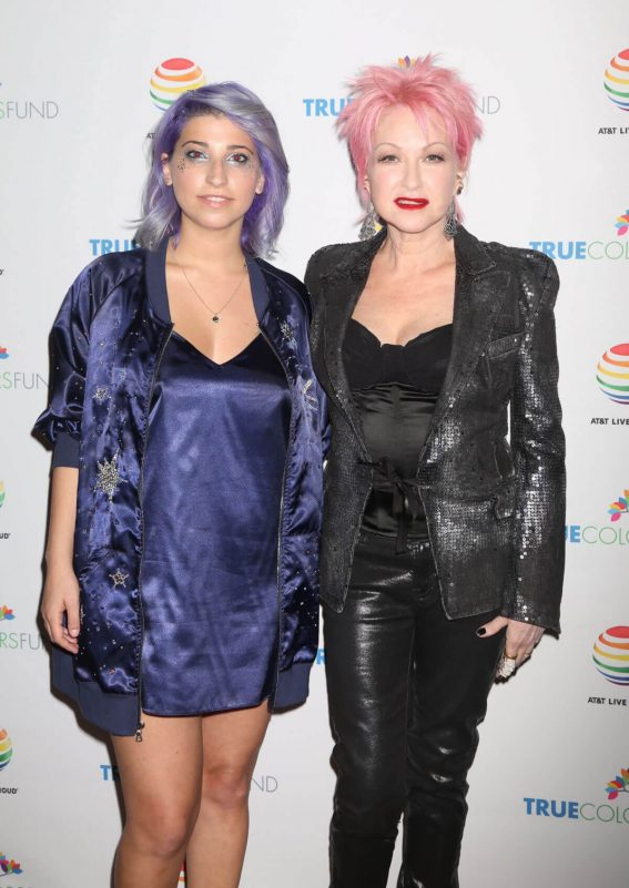 Ariana and the Rose Stills at 7th Annual Cyndi Lauper and Friends Home for the Holidays Benefit Concert in New York 2017/12/09