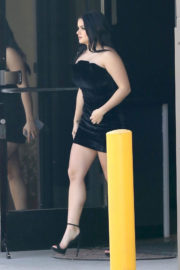 Ariel Winter and Levi Meaden Stills Out in Studio City 2017/12/26