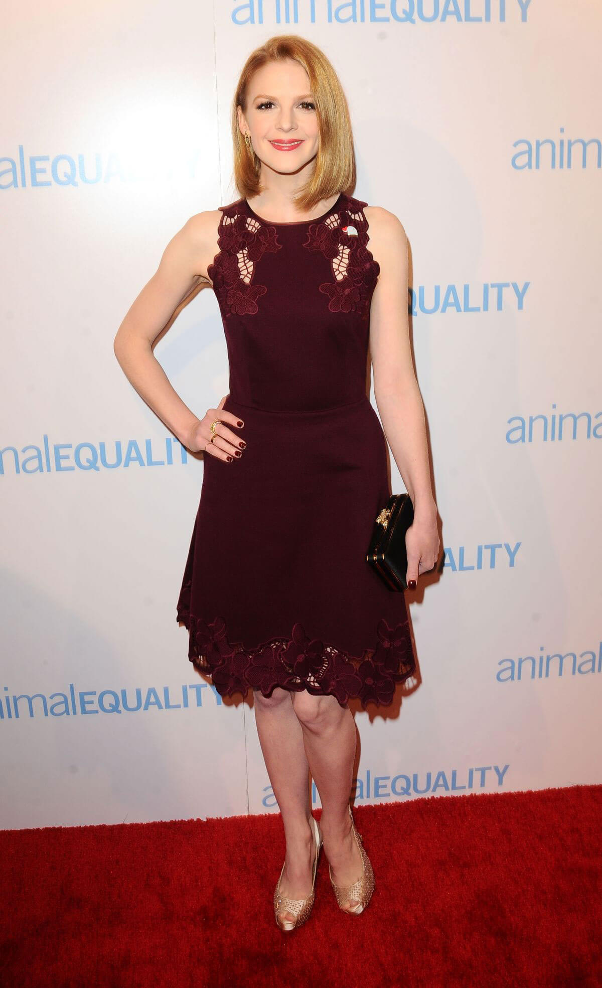 Ashley Bell Stills at Animal Equality Global Action Annual Gala in Los Angeles