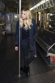 Ashley Benson Stills at Prive Revaux Fan Meet & Greet in New York